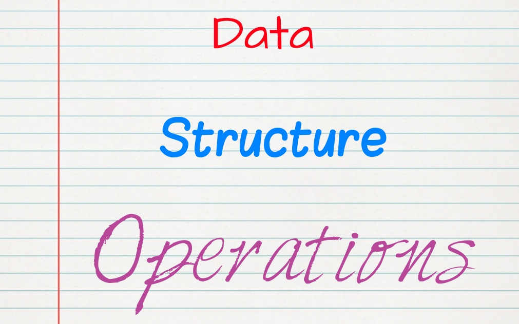 data structure operations in hindi