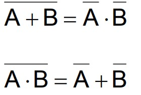 de moran law boolean algebra hindi