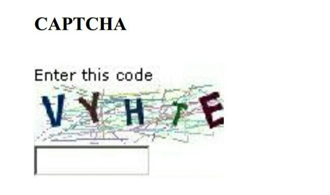 Captcha for brute force attack in hindi